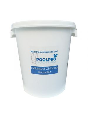 Stabilised Chlorine Granules 200g (Bulk Container - 25 kg)